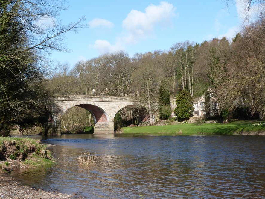 River Wharfe with Bridge